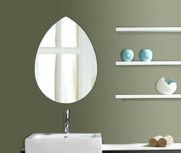飛散防止加工 鏡 ミラー 高透過 超透明鏡 安心 安全 クリスタルミラー シリーズ スーパークリアーミラー・シンプルタイプ、ペア(Pear):scdx-pear430x600-km-HSアイビーオリジナル 洗面 浴室 風呂 トイレ 鏡 ミラー:鏡 ミラー 洗面 インテリア IVY