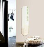 鏡 壁掛け 鏡 ミラー 壁掛け クリスタルミラーシリーズ(一般空間用):c-octagon300x1200-18mm(オクタゴン)(クリアーミラー デラックスカットタイプ)( 鏡 壁掛け 鏡 姿見 壁掛けミラー ウォールミラー )