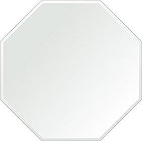 飛散防止加工 鏡 ミラー 安心 安全 クリスタルミラー シリーズ:cdx-regularoctagon650x650-9mm-HS(レギュラーオクタゴン)(クリアーミラー クリスタルカットタイプ)日本製 アイビーオリジナル洗面 浴室 風呂 トイレ 水廻り 壁掛け 姿見 鏡