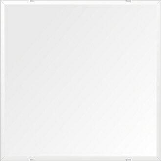 鏡 壁掛け 鏡 ミラー 日本製 高透過 超透明鏡 四角形 鏡 650mmx650mm スーパークリアーミラー デラックスカット 国産 フレームレスミラー 壁掛け鏡 壁掛けミラー ウォールミラー 姿見 姿見鏡 インテリアミラー (リビング、玄関、廊下、寝室など一般空間用)