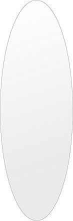 鏡 壁掛け 鏡 ミラー 壁掛け 高透過 超透明鏡 クリスタルミラー シリーズ(一般空間用):sc-oval400x1200-km(オーバル)(スーパークリアーミラー シンプルタイプ)( 鏡 壁掛け 鏡 姿見 壁掛けミラー ウォールミラー ):鏡 ミラー 洗面 インテリア IVY