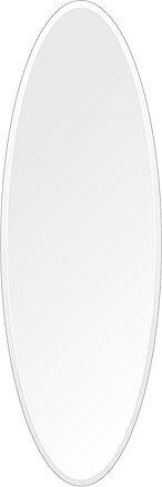 鏡 ミラー 高透過 超透明鏡 トイレ鏡 洗面鏡 化粧鏡 浴室鏡 クリスタルミラー シリーズ:scdx-oval400x1200-18mm(オーバル)(スーパークリアーミラー デラックスカットタイプ)( 鏡 壁掛け 鏡 姿見 壁掛けミラー ウォールミラー ):鏡 ミラー 洗面 インテリア IVY