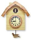 日本製 レトロなデザインの掛け時計 壁掛け時計 掛時計 壁掛け 時計 かけ時計 木製 プレゼント ギフト おしゃれ 北欧 シンプル アンティーク(振り子時計 振り子 時計 仕掛け時計)(鳩時計 ハト時計 はと時計 鳩 時