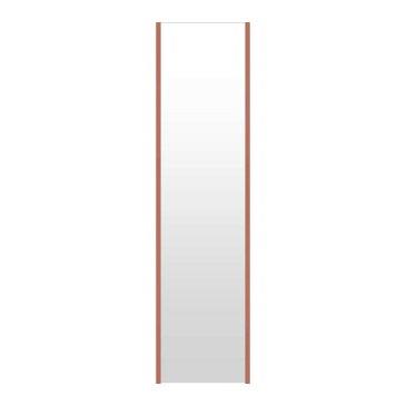 高精細ハイテクミラー 割れない鏡 32〜40x160cm 鏡 立掛け 鏡 ロゼ(レッド) 超軽量 割れないミラー たてかけ 立てかけ 姿見 ミラー 全身 フィルムミラー 日本製 国産 全身鏡 全身ミラー ウォールミラー おしゃれ 防災
