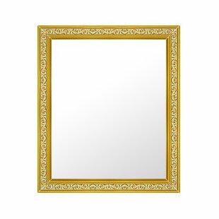 鏡 ミラー 壁掛け鏡 壁掛けミラー ウオールミラー の サイズオーダー サイズ 特注:26-6704金(フレームミラー 壁掛け 壁付け 姿見 姿見鏡 壁 おしゃれ エレガント 化粧鏡 アンティーク 玄関 玄関鏡 洗面所 トイレ 寝室 )