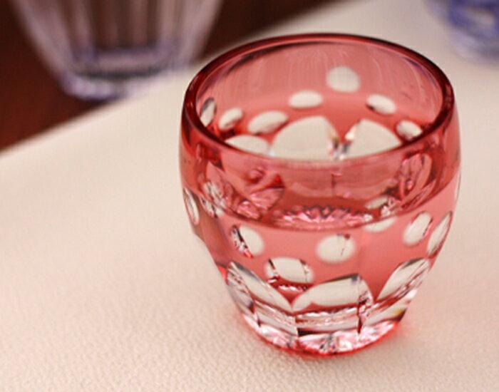 【メーカー直営店】江戸切子カガミクリスタルKAGAMI冷酒グラス冷酒杯「桜」T535-2683-CAU