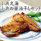 小浜丸海小浜の醤油干しセット【冷凍】【送料無料】