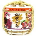 金沢の酒蔵 福光屋飾りにも可愛いミニサイズ豆樽 加賀鳶 豆樽300ミリ