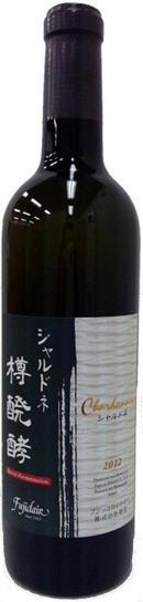 フジッコワイナリー プレミアムワイン シャルドネ樽発酵[2014]