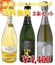 【第29弾】辛口スパークリングワイン【送料無料】3本セット
