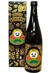 石川の北陸新幹線開業PRマスコットキャラクター「ひゃくまんさん」ラベルの日本酒です福正宗 ...