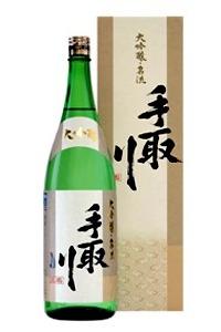 石川県は白山市の蔵元 吉田酒造手取川 名流大吟醸 1800ミリ