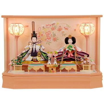 雛人形 ひな人形 K100 コンパクト 佳月 かげつ 雛人形 雛 ケース飾り 雛 親王飾り 雛名匠・逸品飾り 高級品 即実発送