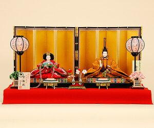 雛人形 京雛103【ひな人形】【人形の佳月】【京雛】【有職京雛司 平安寿峰 謹製】【京都西陣帯…