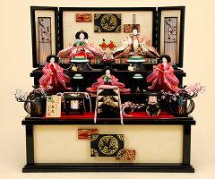 雛人形 京雛113【ひな人形】【人形の佳月】【京雛】【御皇室御嘉納京雛司 平安寿峰 謹製】【京…