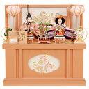 雛人形 ひな人形 K300 コンパクト 京都西陣帯 収納飾り...