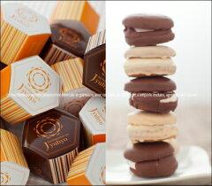 ミルクチョコレート&ピーナッツチョコレート八幡平の樹氷10個入(白5黒5)ふんわりクッキーに...