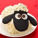 誕生日 キャラクターケーキ お菓子ひつじのショーンケーキ送料無料 ※一部地域を除く ギフト 生クリームロールケーキ お取り寄せ 手土産 誕生日お祝 スイーツ 限定 クッキー