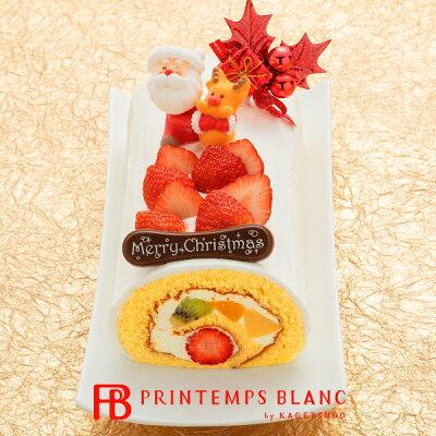 お取り寄せ(楽天) 11/30まで早期割引 クリスマスプランタンヌーボー ロールケーキ クリスマスケーキ 価格3,780円 (税込)