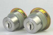 (4)WESTリプレイスシリンダーLIX用交換シリンダー・2個同一キーセット