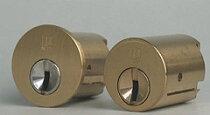 WESTリプレイスシリンダーセキスイ・ハウス用交換シリンダー(1)+(2)・2個同一キーセット