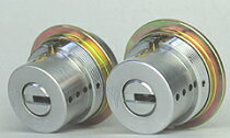 (1)MUL-T-LOCK(マルティロック)J・LIX用交換シリンダー・2個同一キーセット