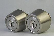 (4)WESTリプレイスシリンダーLSP用交換シリンダー・2個同一キーセット