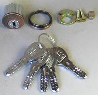 KODAI・アスカ交換用シリンダー(ディンプルキーシリンダー仕様)メーカー純正品
