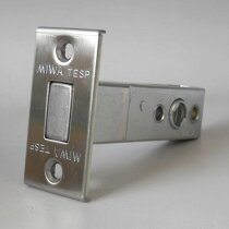 MIWATESPサブ箱錠用交換錠ケースM-61シルバー