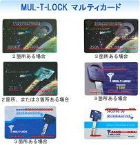 MUL-T-LOCK(マルティロック)カード種類