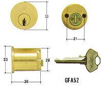 WESTGFA52用・交換シリンダー(従来品)