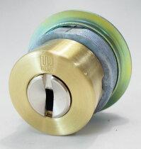 WESTリプレイスシリンダーLIX用交換シリンダーゴールド色