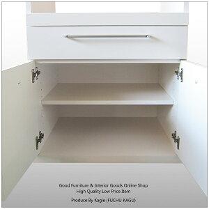 レンジ台キッチンボード60幅完成品大型レンジ対応キッチンキャビネットレンジ台完成品60cmキッチンカウンター