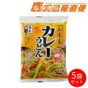五木食品 五木庵カレーうどん ねぎ・にんじん入り カレースープ付 5袋セット 九州 熊本 五木食品