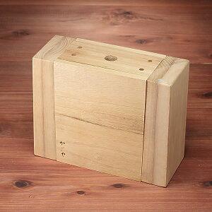 解体できる木型が単品で登場!木型(大)手提かご製作用(約)幅25xマチ10x高さ19cm出来上がり...