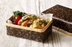 黒竹弁当箱(小)