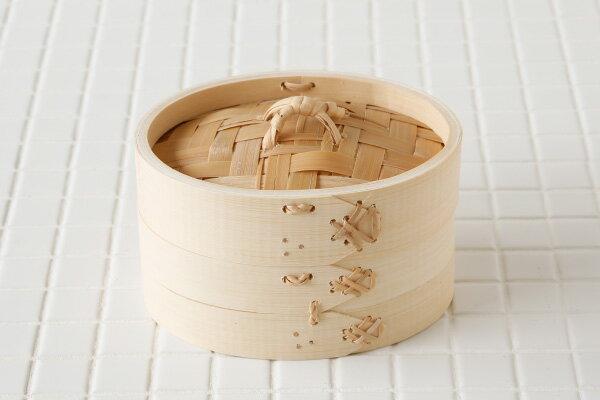 【小判型】竹 中華せいろ 約15×11cm(外径)【本体とふたのセット】※通常のせいろとは形が違いますので購入の際は、お間違いないようご注意ください。