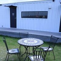 ガーデンテーブルセットダイニングテーブルセットガーデンテーブルセットガーデンセット庭プールテーブルセットベランダ4人掛けカフェ風90幅ダイニングセット幅90cmモダンおしゃれ北欧モダン雨ざらしアウトレット価格並楽天通販大川家具Matsumoto