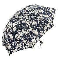 シャンタンシルク花柄折傘