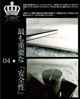 【送料無料】《LINEAリネア-幅105cm×60cm》デザインスモークガラス+下段ブラックガラステーブルセンターテーブルリビングテーブルモノトーン系クールコーヒーテーブルローテーブルガラスセンターテーブルシンプル北欧風モダン応接テーブル◆黒※GTLI