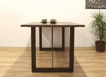 オーダーテーブル天然木ウォールナット材サイズ・カラーオーダーOKナチュラルモダン木製