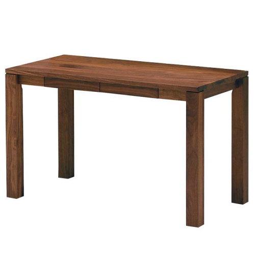 天然木ウォールナット無垢材の学習デスク『木の机』将来型デスク・素材サイズが選べます国産・日本製・木製オイル塗装エコ仕様ウレタン塗装仕上げ平机パソコンデスク・ブラックチェリー・ウォールナット:家具の のぐち J-select
