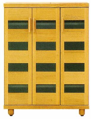 天然木オーク材使用のナチュラルなシューズボックス木製自然塗料オイル仕上げ・国産・日本製ロー&ハイタイプ木製脚付きアジャスター付き別注脚高可26足収納