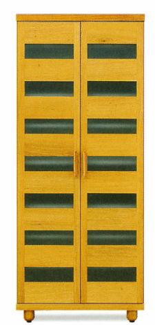 天然木オーク材使用のナチュラルなシューズボックス木製自然塗料オイル仕上げ・国産・日本製ロー&ハイタイプ木製脚付きアジャスター付き別注脚高可35足収納