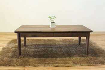 天然木ウォールナット・ナラ無垢材の木の机・オーダーメイド・イージーオーダー出来ます北欧モダン