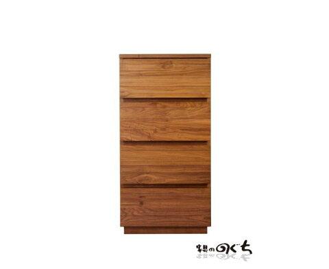 天然木ウォールナット無垢材使用の国産チェスト木製サイドチェストAVキャビネットシリーズ商品収納国産・日本製レグナテック7素材から選べますオーダー