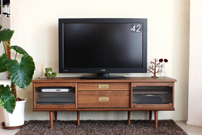 テレビボード 幅160 160幅 ローボード テレビ台 木製 おしゃれ レトロ 脚 国産 日本製 大川家具 家具 収納 AV収納 リビング