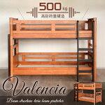 (送料無料2段ベッドベッド)バレンシア2段ベッド
