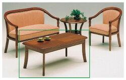 センターテーブル幅116cm応接テーブルリビングテーブル/木製テーブルローテーブル
