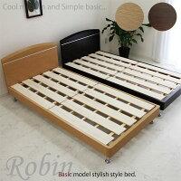 シングルベッドベッドフレームロータイプベッドすのこ